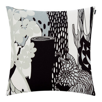 Veljekset Pillow Cover 50x50cm - Black/White