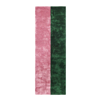 Pavilion Rug - Blush/Green