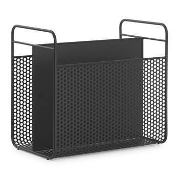Analog Magazine Rack - Black