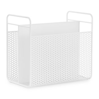 Analog Magazine Rack - White