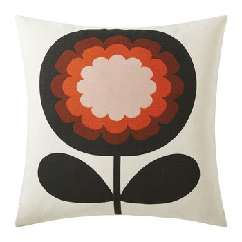 '70s Frilly Flower Cushion - 45x45cm