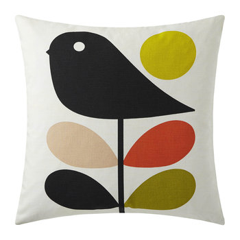 Early Bird Cushion - 45x45cm - Pale Rose