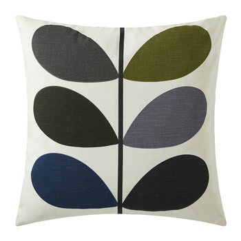 Multi Stem Cushion - 45x45cm - Khaki