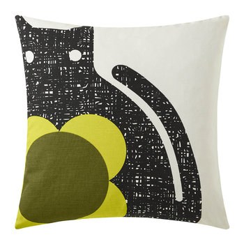 Poppy Cat Cushion - 45x45cm