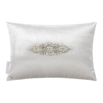 Palermo Bed Cushion - 20x35cm - Oyster