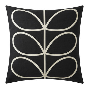 Linear Stem Pillow - 45x45cm - Slate