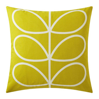Linear Stem Pillow - 45x45cm - Sunflower