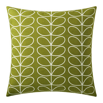 Small Linear Stem Cushion - 50x50cm - Apple