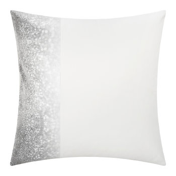 Glitter Fade Pillowcase - Silver