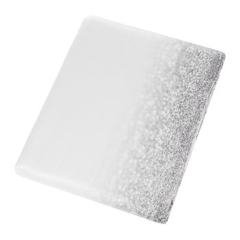 Couvre-lit Glitter Fade - Argent