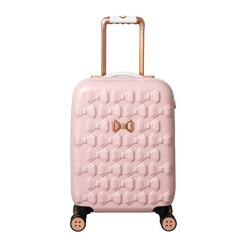 Moulded Beau Suitcase - Pink