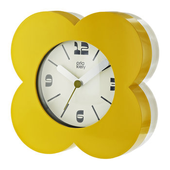 Poppy Alarm Clock - Dandelion Yellow