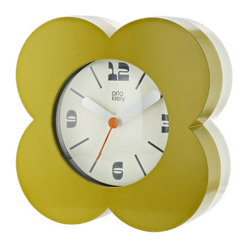 Poppy Alarm Clock - Moss Green