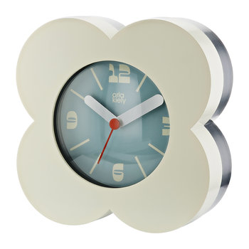 Poppy Alarm Clock - Cream