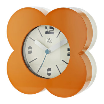 Poppy Alarm Clock - Papaya Orange