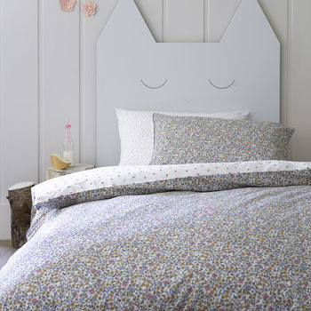 Ladybird Duvet Set - White