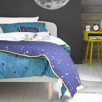Galaxy Quilt Set - Teal