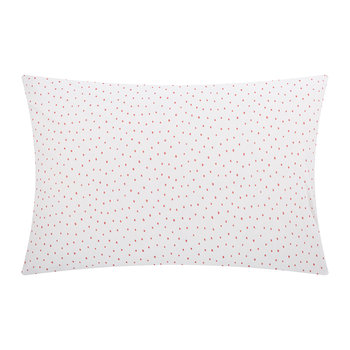 Speckle Pillowcase - Coral