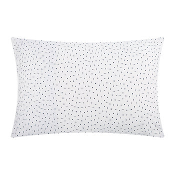 Speckle Pillowcase - Indigo