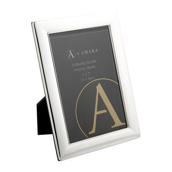 Sterling Silver Multi Line Photo Frame
