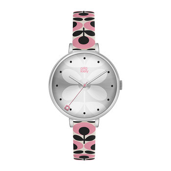 Ivy Floral Strap Watch - Pink