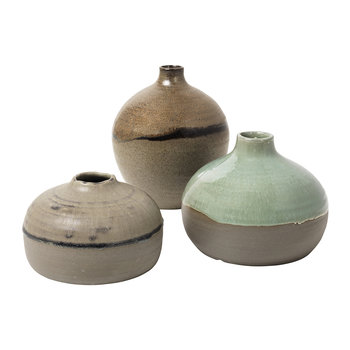 Dorit Stoneware Vase - Set of 3