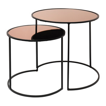 Stends Table - Set of 2 - Rose Gold
