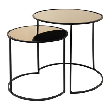Stends Table - Set of 2 - Brown