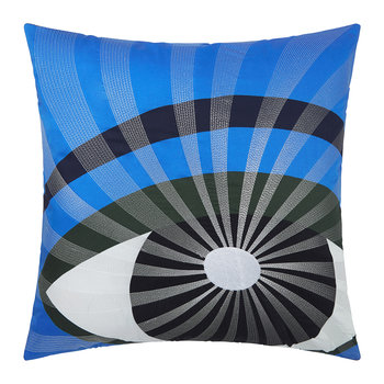 Eyes Cushion Cover - 45x45cm - Blue