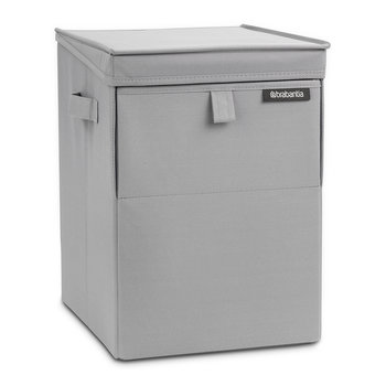 Stackable Laundry Box - Cool Grey