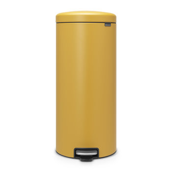 NewIcon Pedal Bin - Mustard Yellow