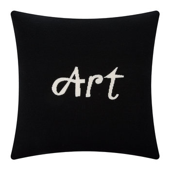 Art Pillow - Black