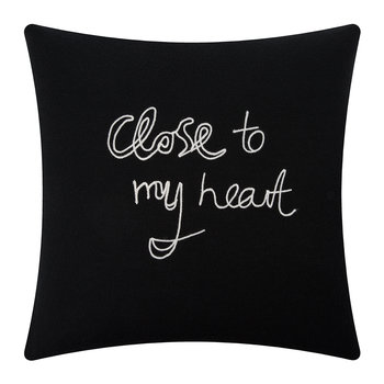 Coussin Close To My Heart - Noir