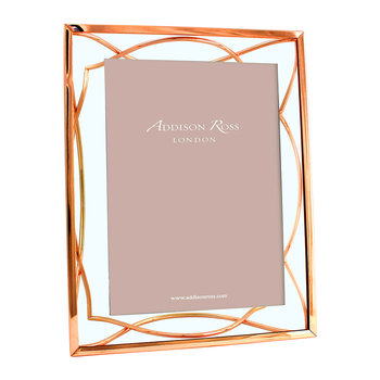 Rose Gold Elegance Photo Frame