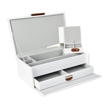 Notting Hill Jewellery Box - White