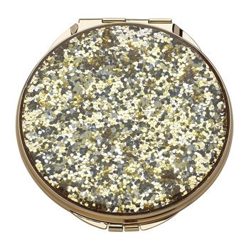 Simply Sparkling Compact Mirror - Gold