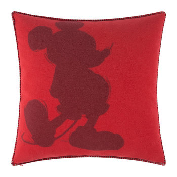 Mickey Mouse Pillow - 50x50cm - Geranium