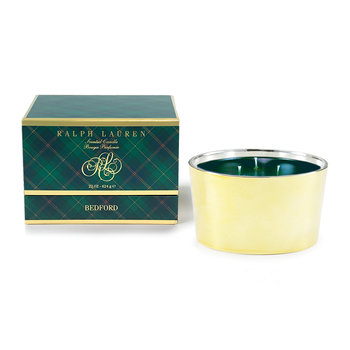 Bedford Triple Wick Candle - Gold