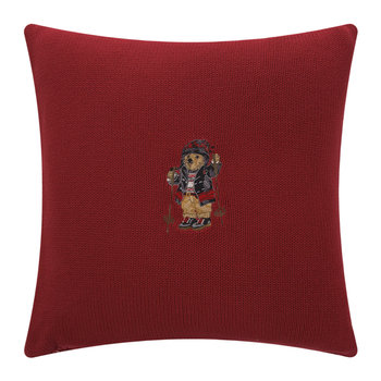Ralph Lauren Bear Cushion Cover - 45x45cm - Skier Bear