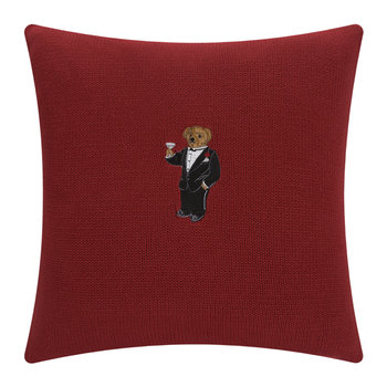 Ralph Lauren Bear Cushion Cover - 45x45cm - Martini Bear