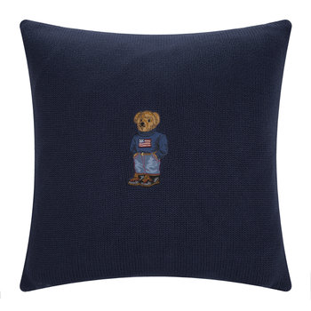 Ralph Lauren Bear Cushion Cover - 45x45cm - Flag Bear
