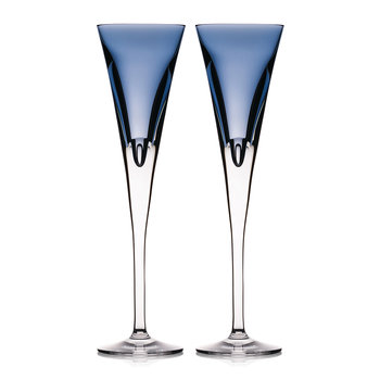 Eclipse Champagne Flutes - Set of 2 - Sky