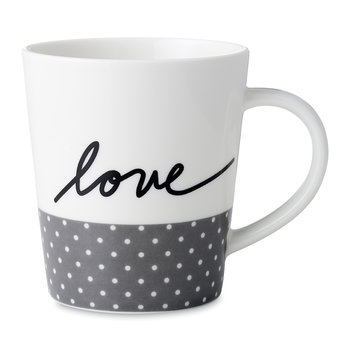 Ellen DeGeneres Love Mug - Grey Dots