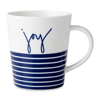 Ellen DeGeneres Joy Mug - Blue Stripe