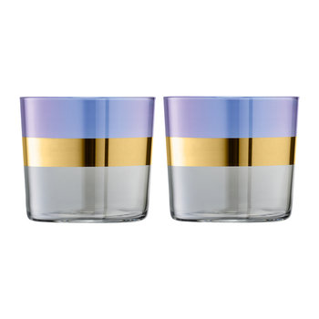 Bangle Tumbler - Set of 2 - Blueberry