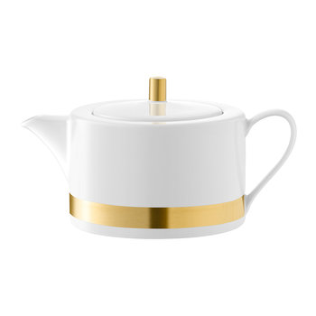 Deco Gold Teapot