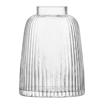 Pleat Vase - Clear