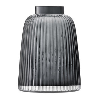 Pleat Vase - Grey