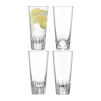 Tatra Highball Glass - Set of 4 - Assorted