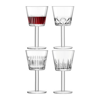 Tatra Wine Goblet - Set of 4 - Assorted